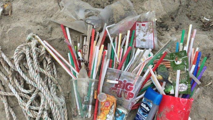 Plastové slamky tvoria podstatnú časť odpadu, ktorý znečisťuje vodné toky, pláže a moria.