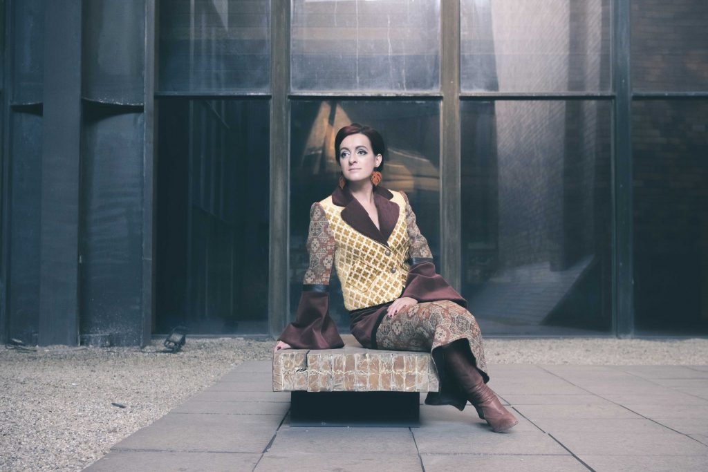 Martina Mareková Kuipers stojí za lokálnou slow fashion značkou BARTINKI. Foto: Ľubomír Rechtorík